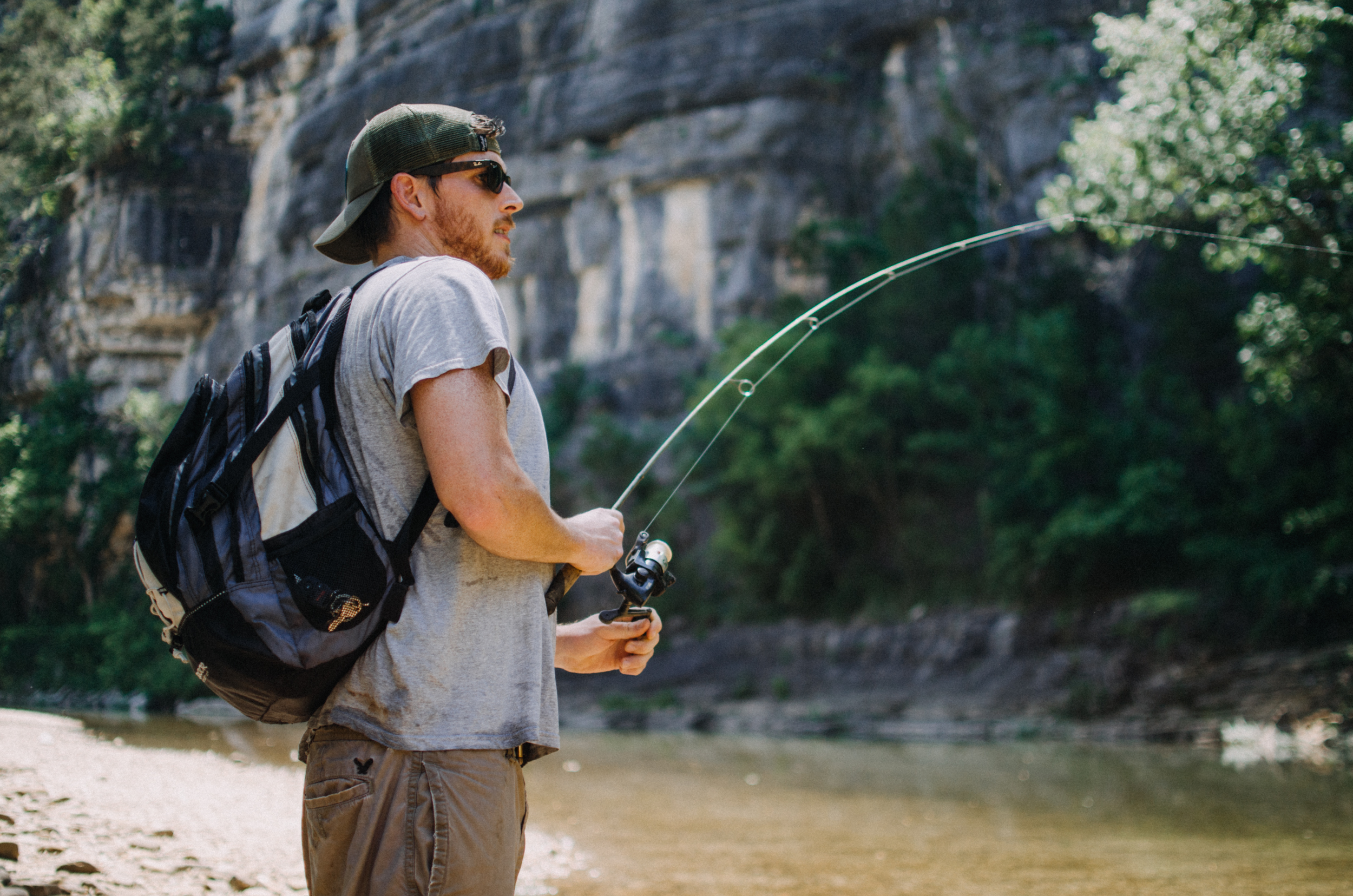 Fishing on the Buffalo National River