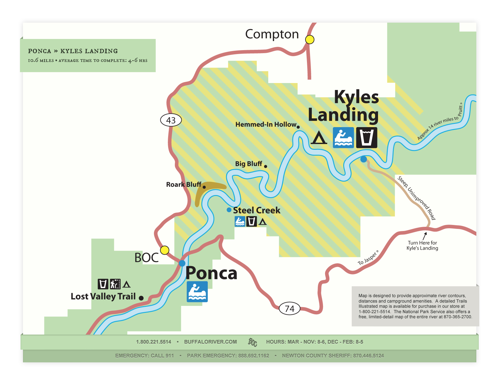 New Website Features Buffalo River Map PDF Downloads