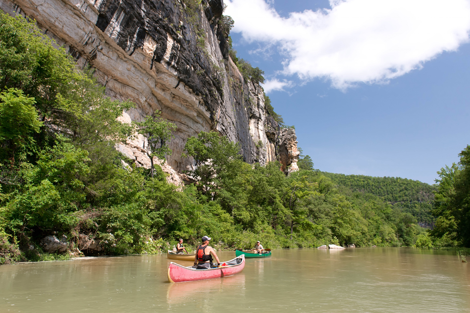 Historic August Canoeing Underway in Ponca