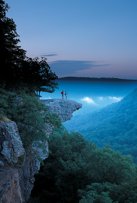 The view is stunning at Whitaker Point